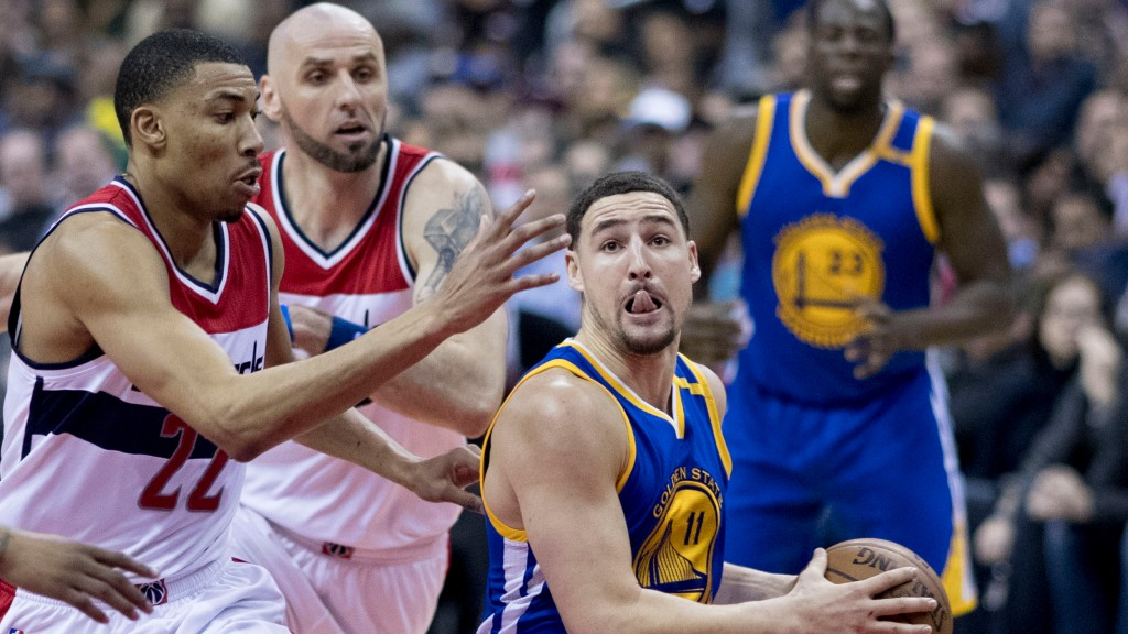 Klay Thompson might join Davis and Lebron at Lakers.